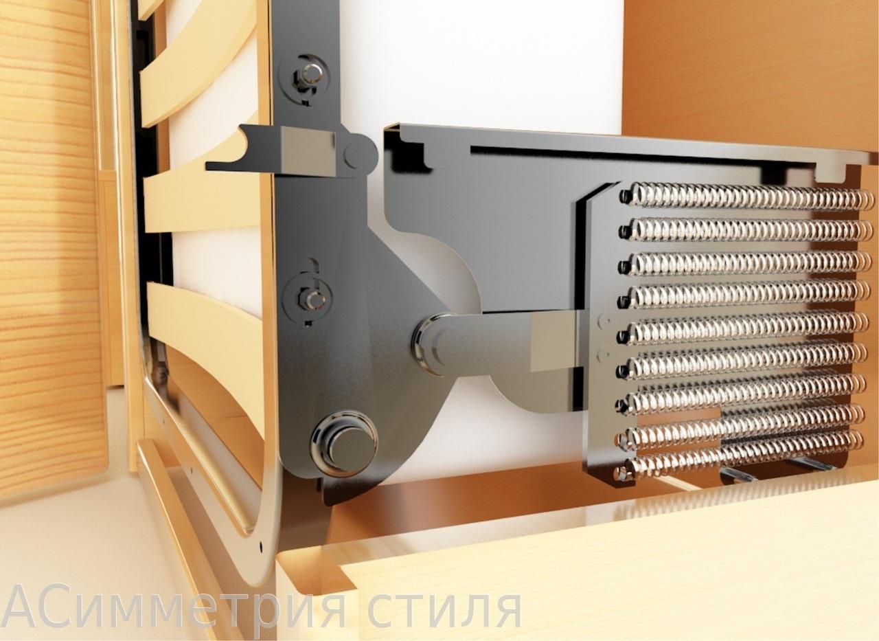 Механизм для откидной кровати своими руками