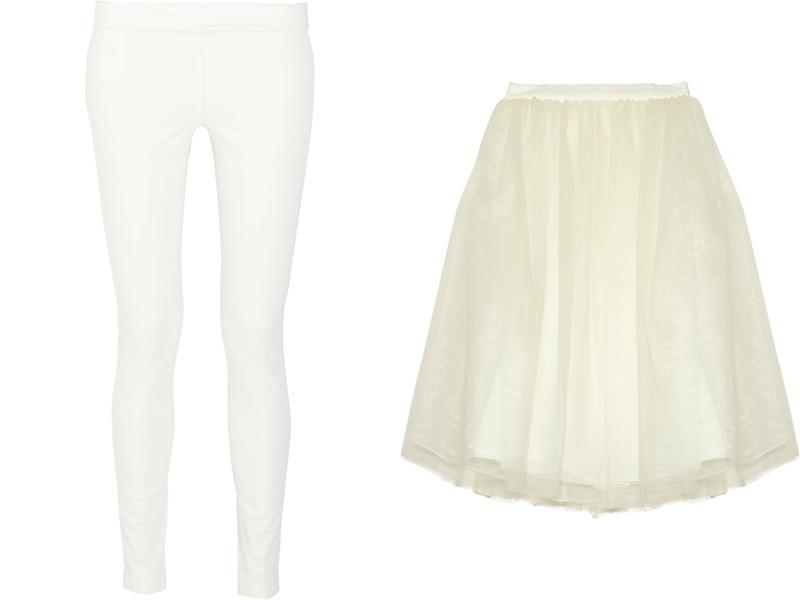 Лосини як самостійний елемент жіночого одягу з явилися в минулому столітті  в 80- роках 6f9710a359b48