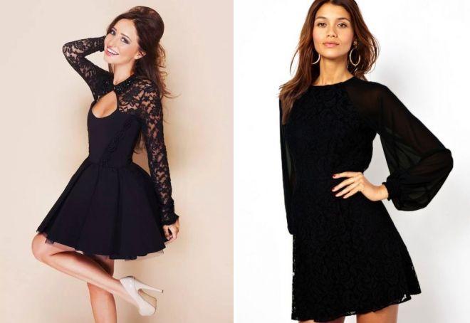 Вибираємо новий образ  довге чорне плаття 54864cba7d866