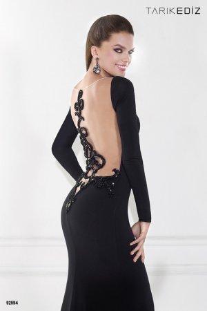 Вибираємо новий образ  довге чорне плаття b500cf7d16921